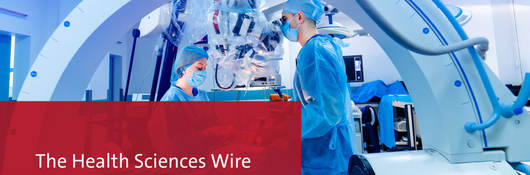 Health Sciences Wire banner