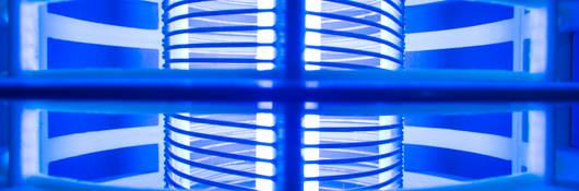 Blue Halogen Light