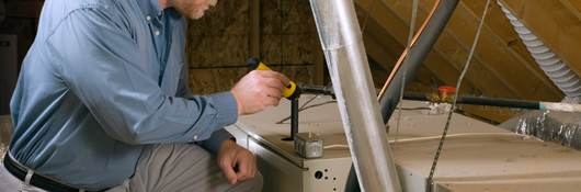 Home ventilation inspection.