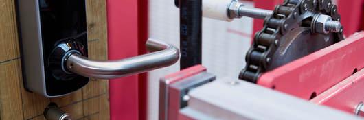 Door hardware testing rig