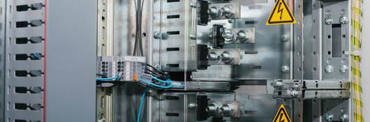 Low-voltage cabinet. Uninterrupted power.