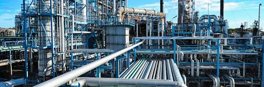 Oil and gas fuel refinery
