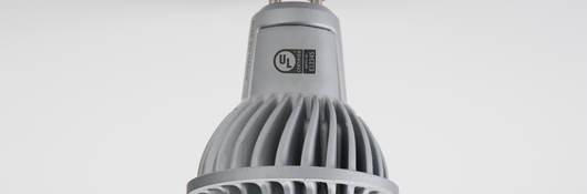LED light bulb with UL Enhanced Mark