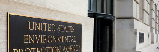 US EPA sign on a building