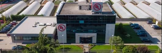 Aerial view of Carugate laboratory