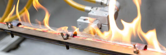 Cable on fire test