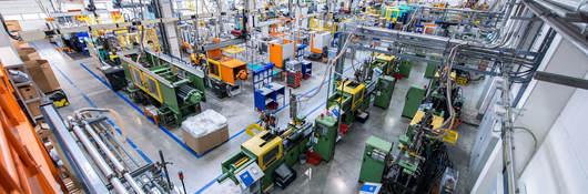 Manufacturing facility interior