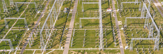 Electrical substation field
