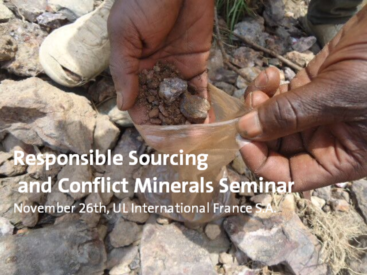 Responsible Sourcing Seminar