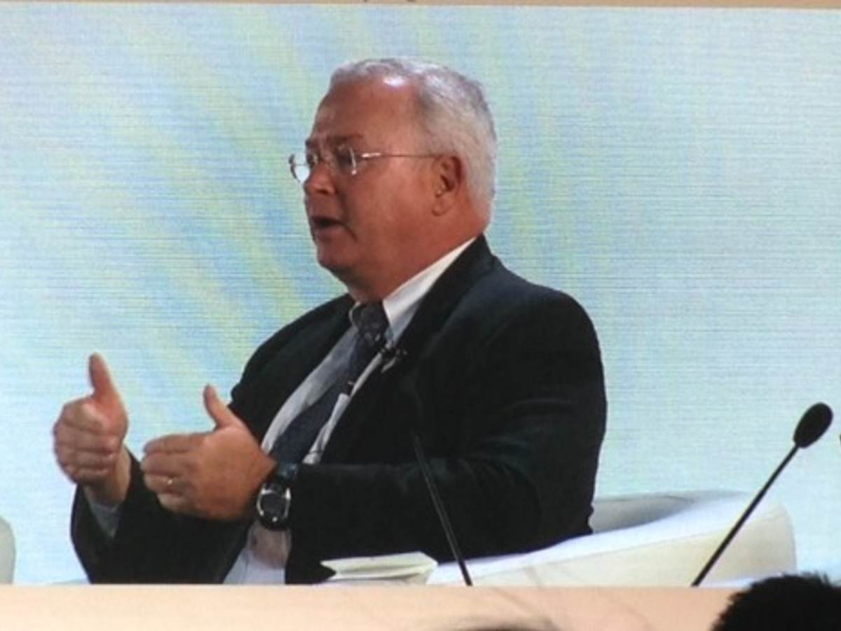 Terry Brady talks at APEC