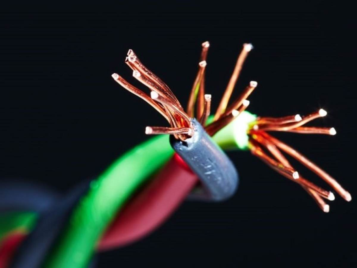 Red, green and blue electrical wire twisted together., Portrait photo of John Kovacik, Principal Engineer and UL's Principal on the NEC Correlating Committee, ,