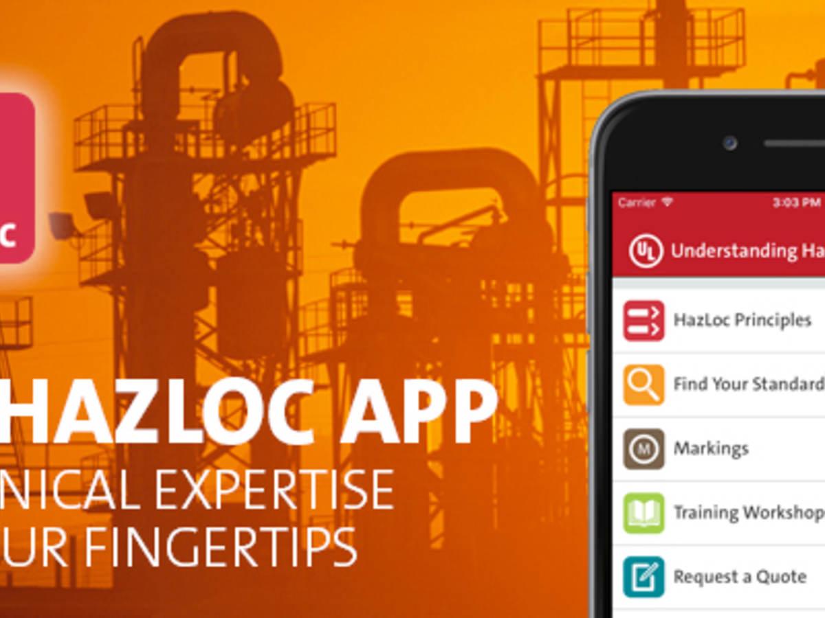 UL Hazloc App