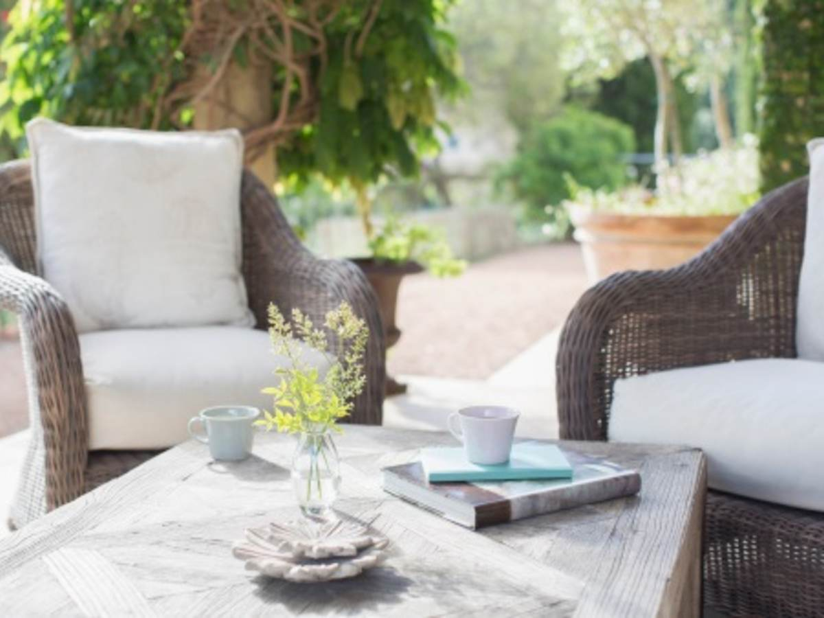 The outdoor space has become an extension of our daily living spaces.