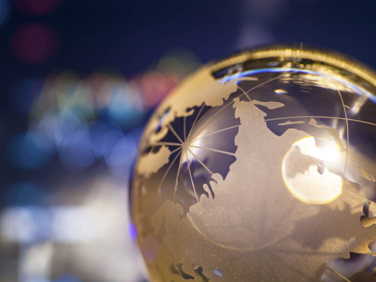Abstracted globe