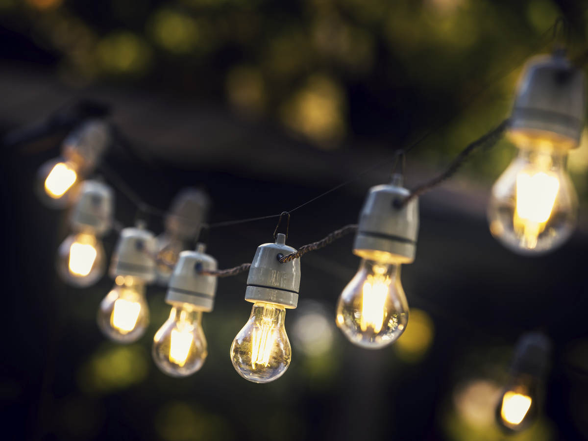 Image of: Compliance Requirements For String Lights Year Round Ul588 Ul