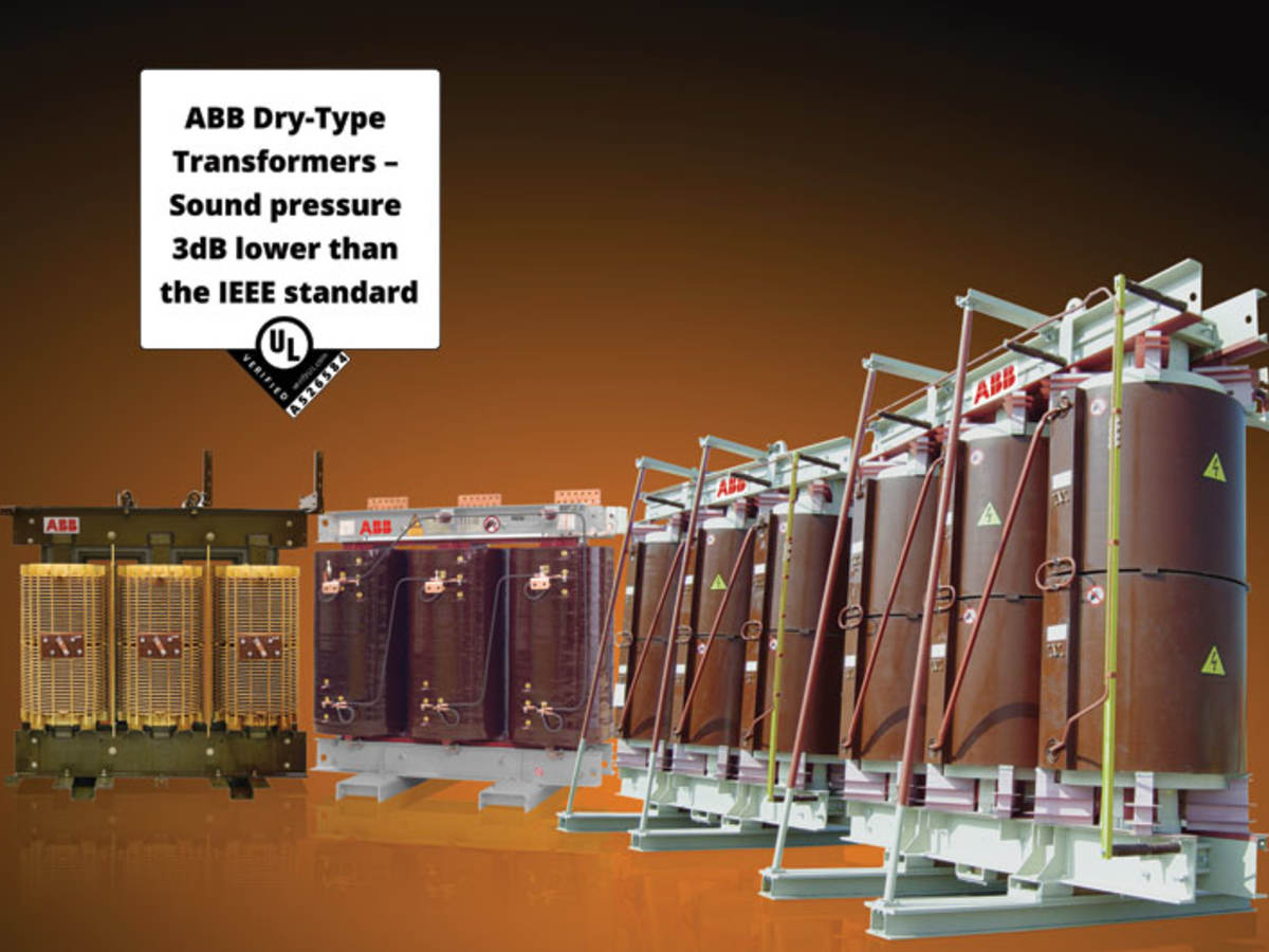 ABB dry-type medium voltage distribution transformers that received the UL Verification Mark