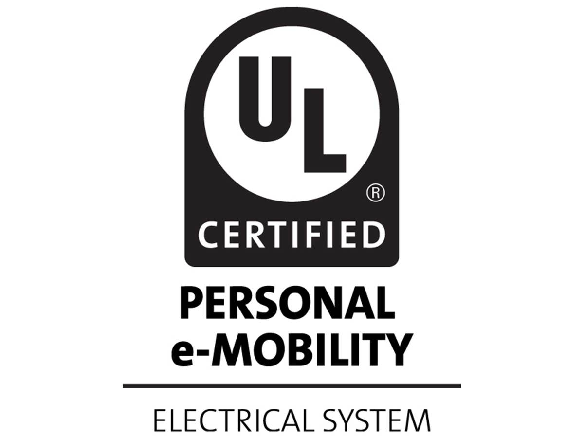 UL Certified Personal E-Mobility Electrical System