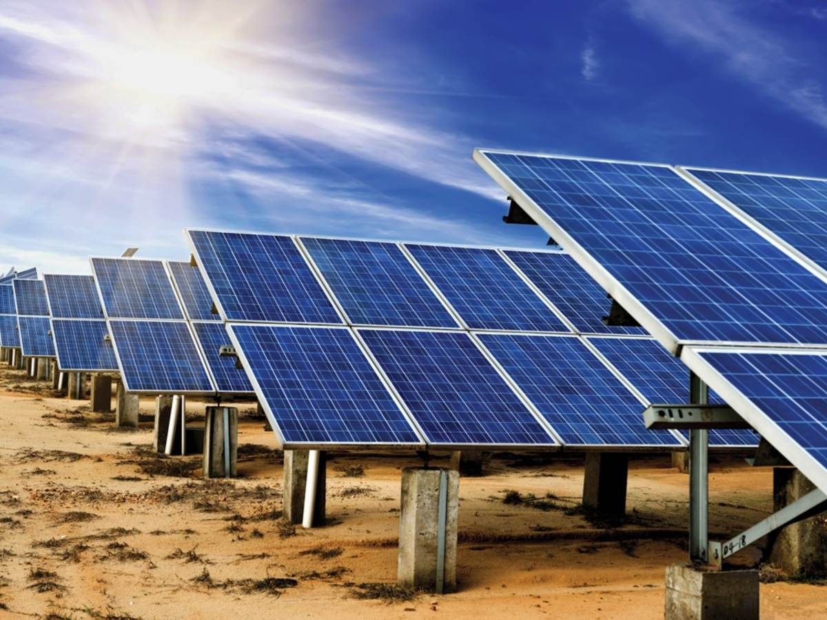Utility scale solar energy project