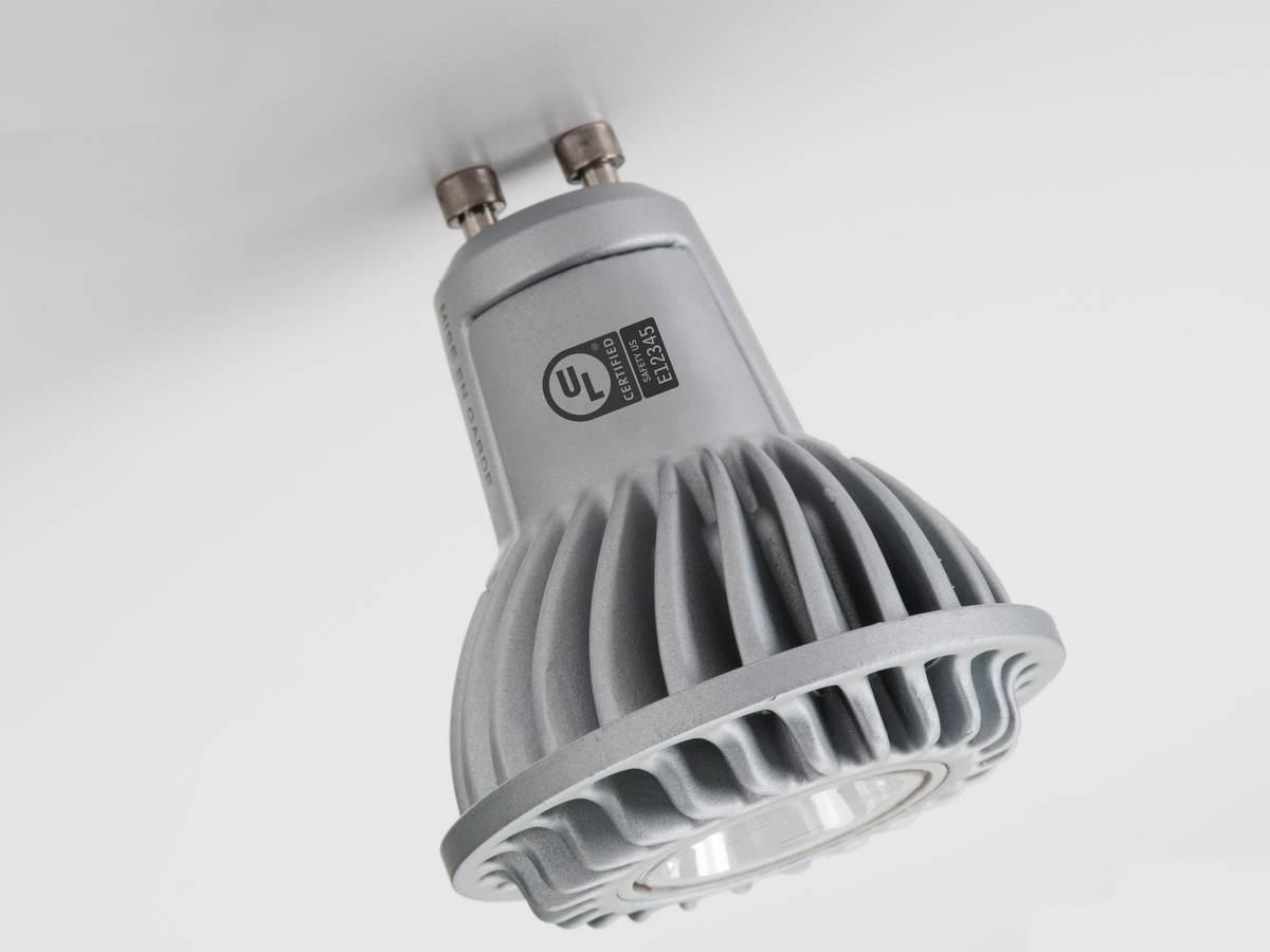 light fixture with UL mark