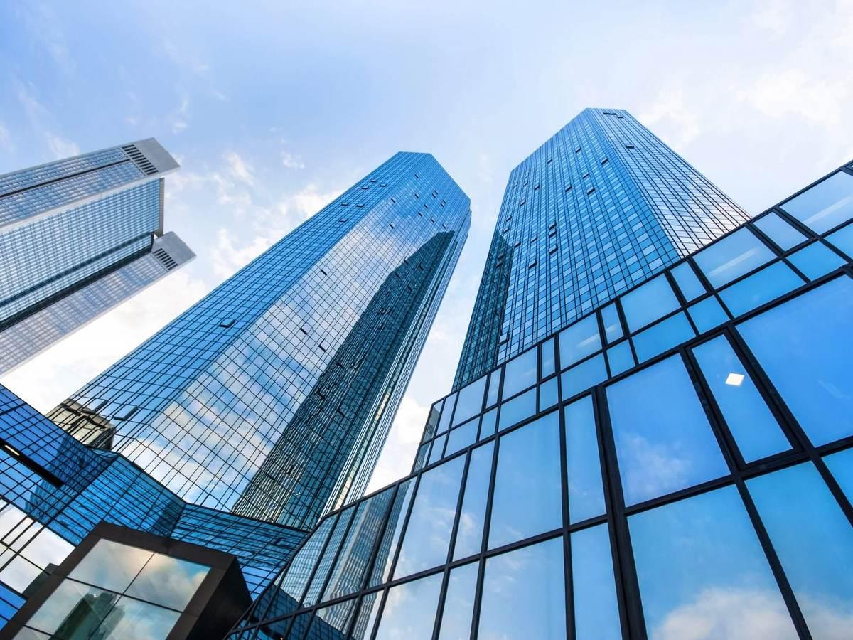 Skyscrapers in Frankfurt, Germany