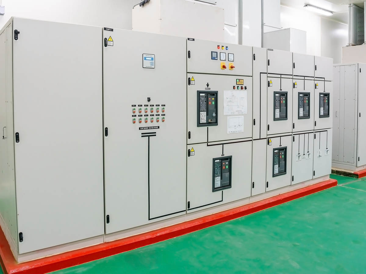 Industrial electrical switch panel