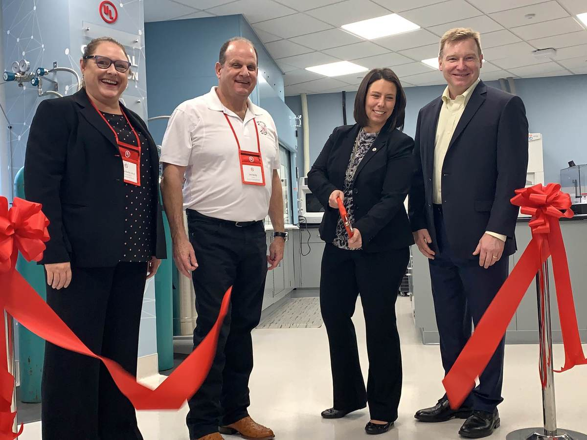 Personal Protective Equipment Chemical and Biological Protection Lab Grand Opening