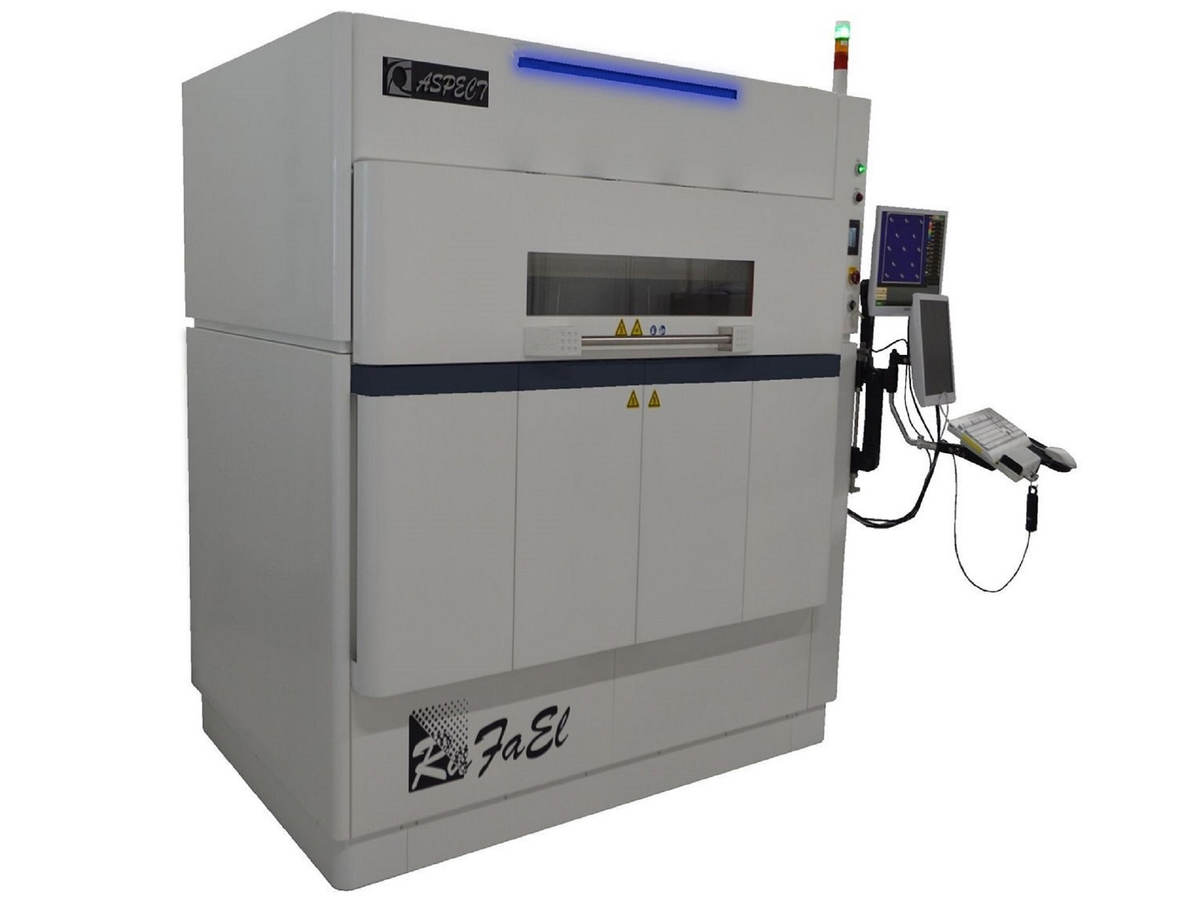 Photo of the RaFaEl 3d Printer by ASPECT, Inc. a powder bed fusion (PBF) 3D printer manufacturer