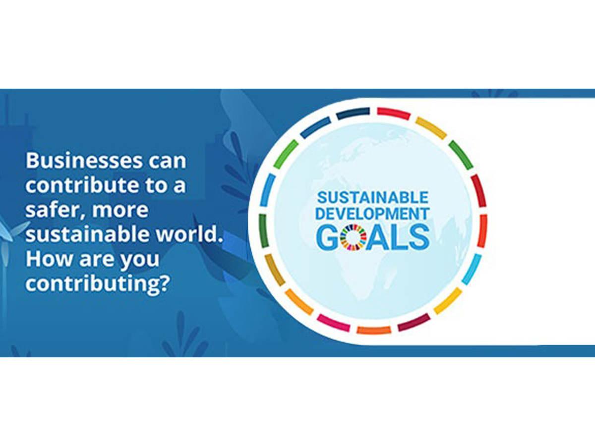 Depiction of sustainable development goals