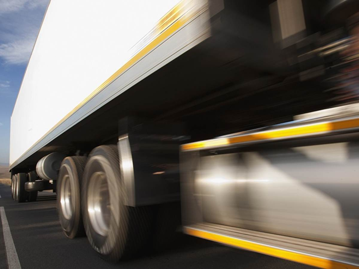 Supply chain lorry