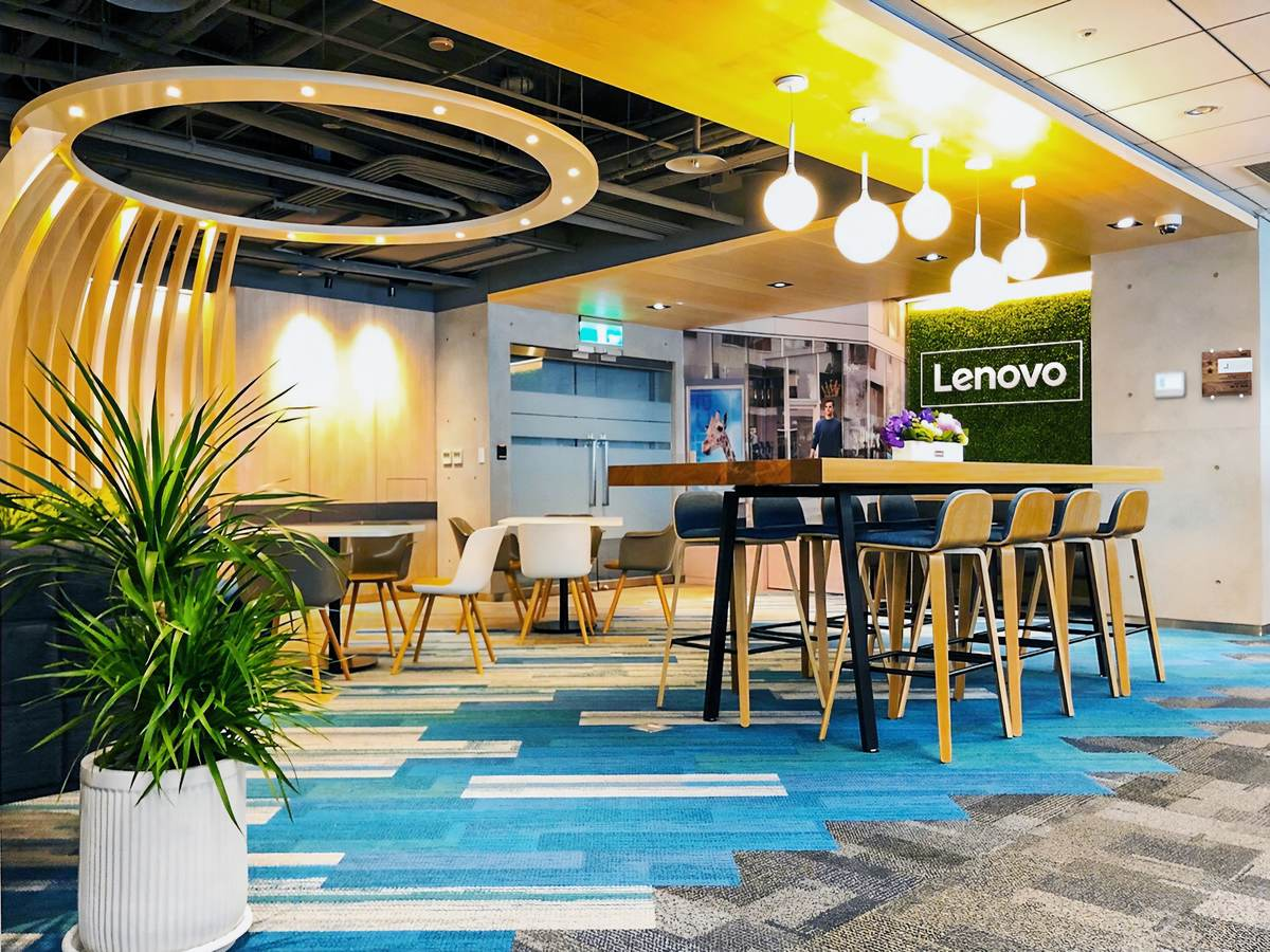 Lenovo Dcg Taipei Design Center Becomes Taiwan S First Office To Earn The 2 Star Fitwel Rating Ul