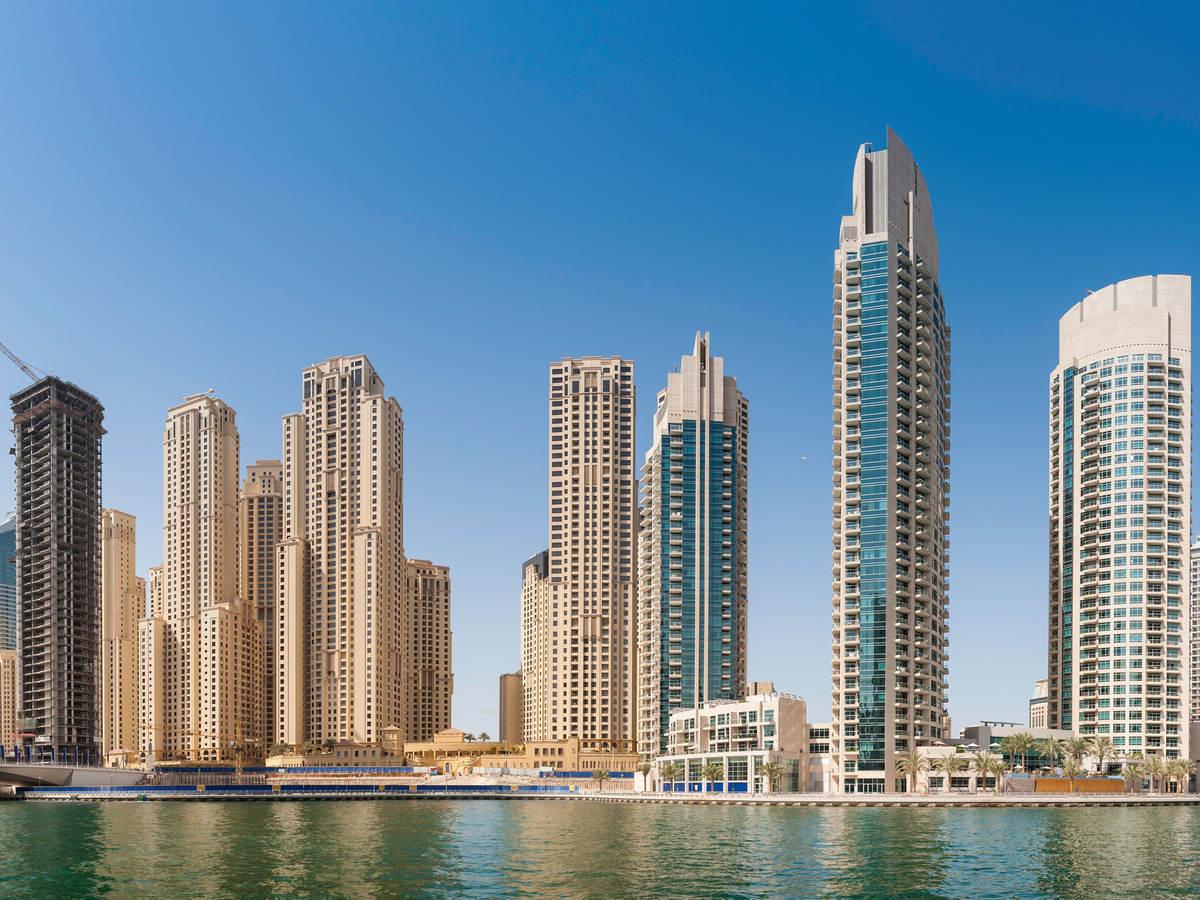 High-rise buildings in Dubai