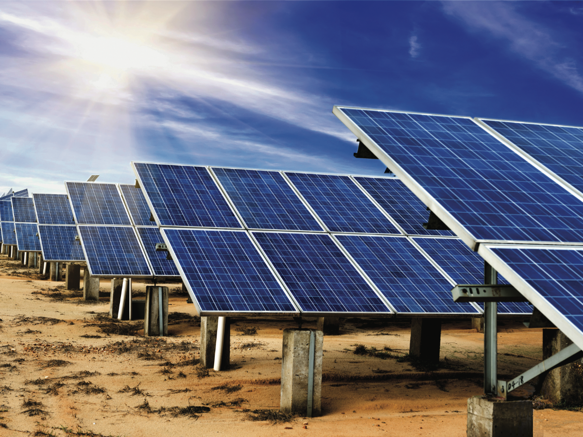 PV Plant in the Middle East