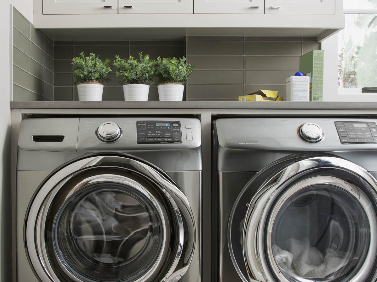Washing machines.