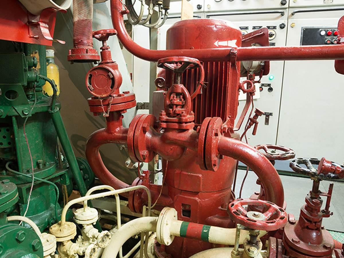 Fire system pump