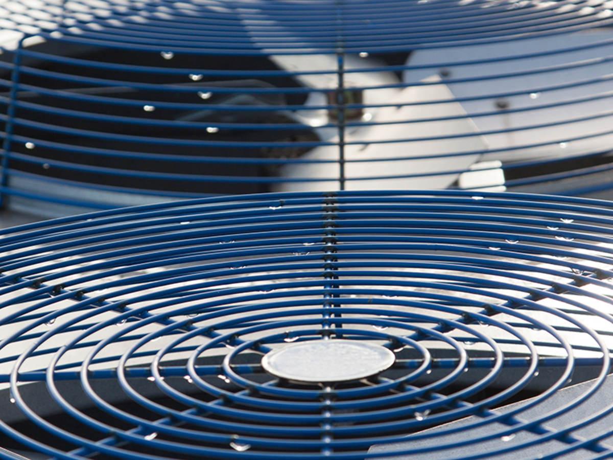 AC fan units.