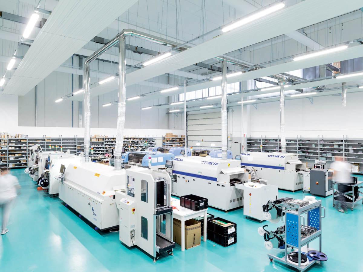 INIM's production facility