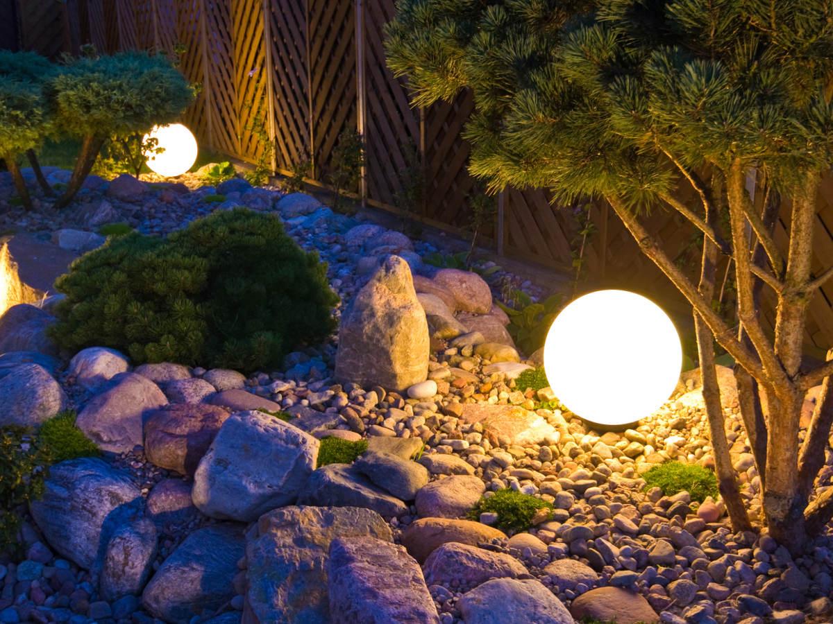home garden landscape lighting