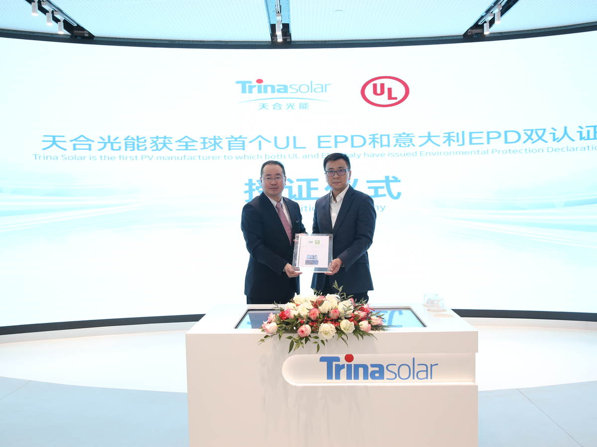 EPD for Trina Solar