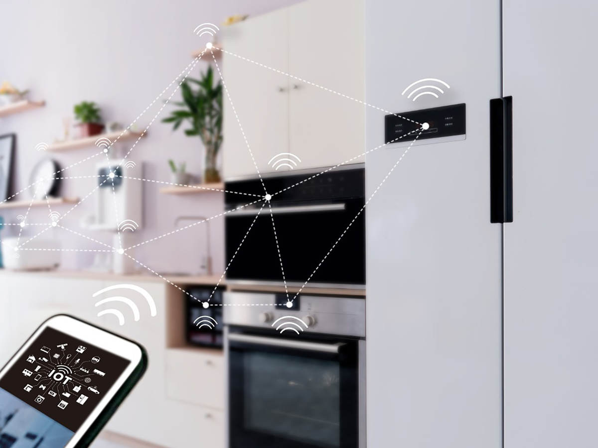 Connected smart home appliance