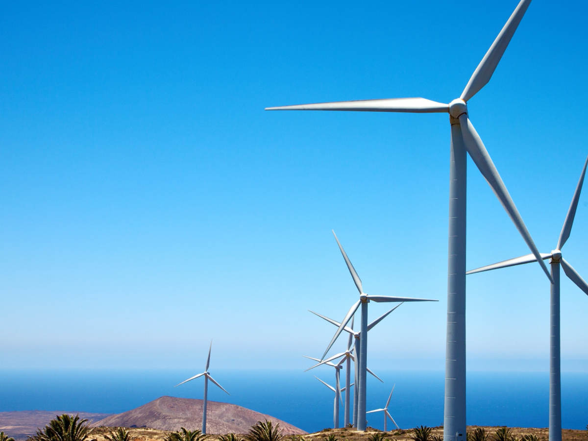 Wind turbines in Africa