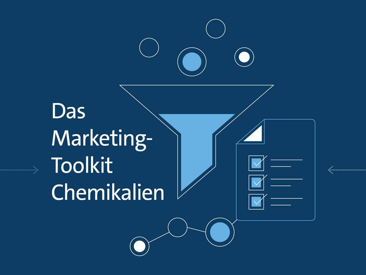 Graphical representation of Das Marketing Toolkit Chemikalien