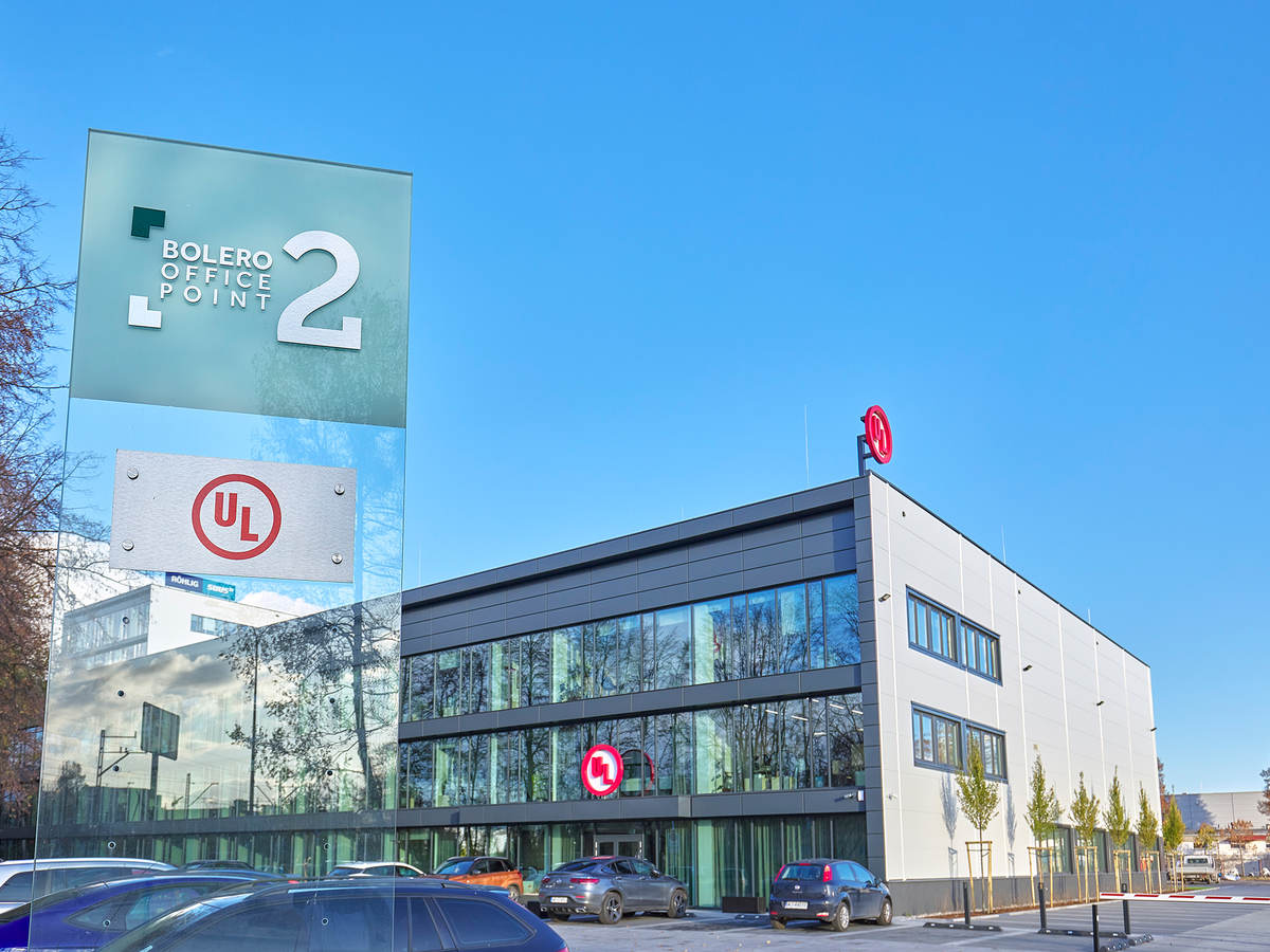 External view of UL Poland new offices and laboratories