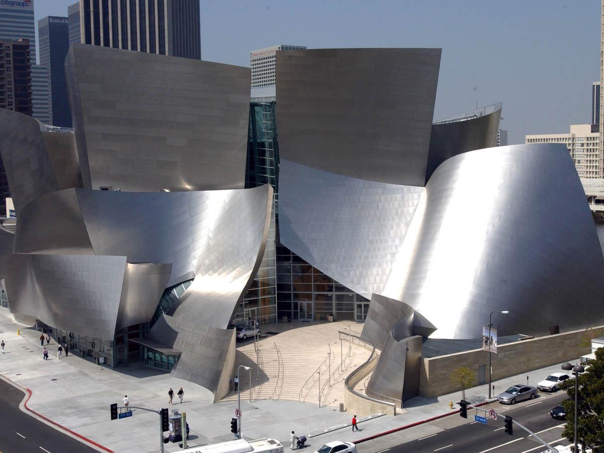 The Music Center's Walt Disney Concert Hall credit Henry Salazar, County of Los Angeles