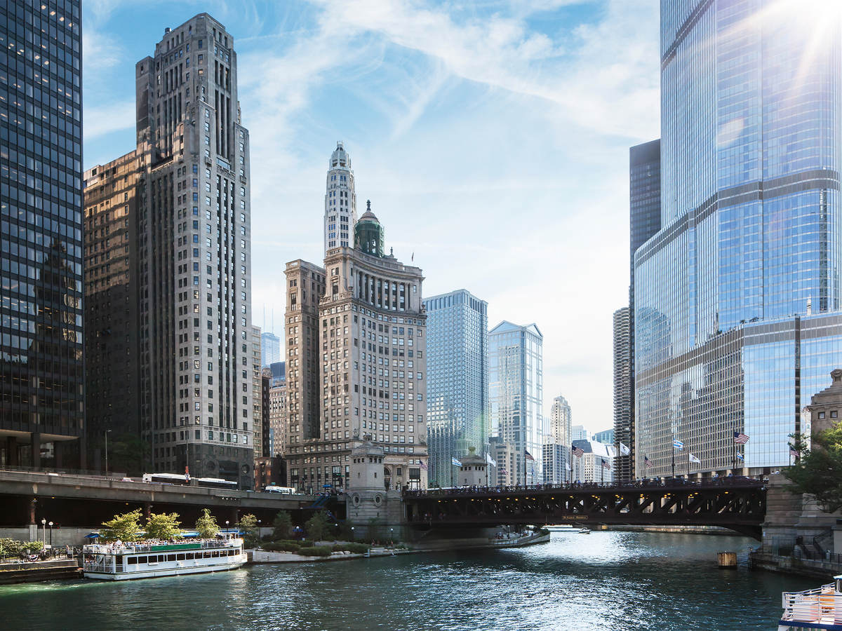Photo of a Chicago in the morning