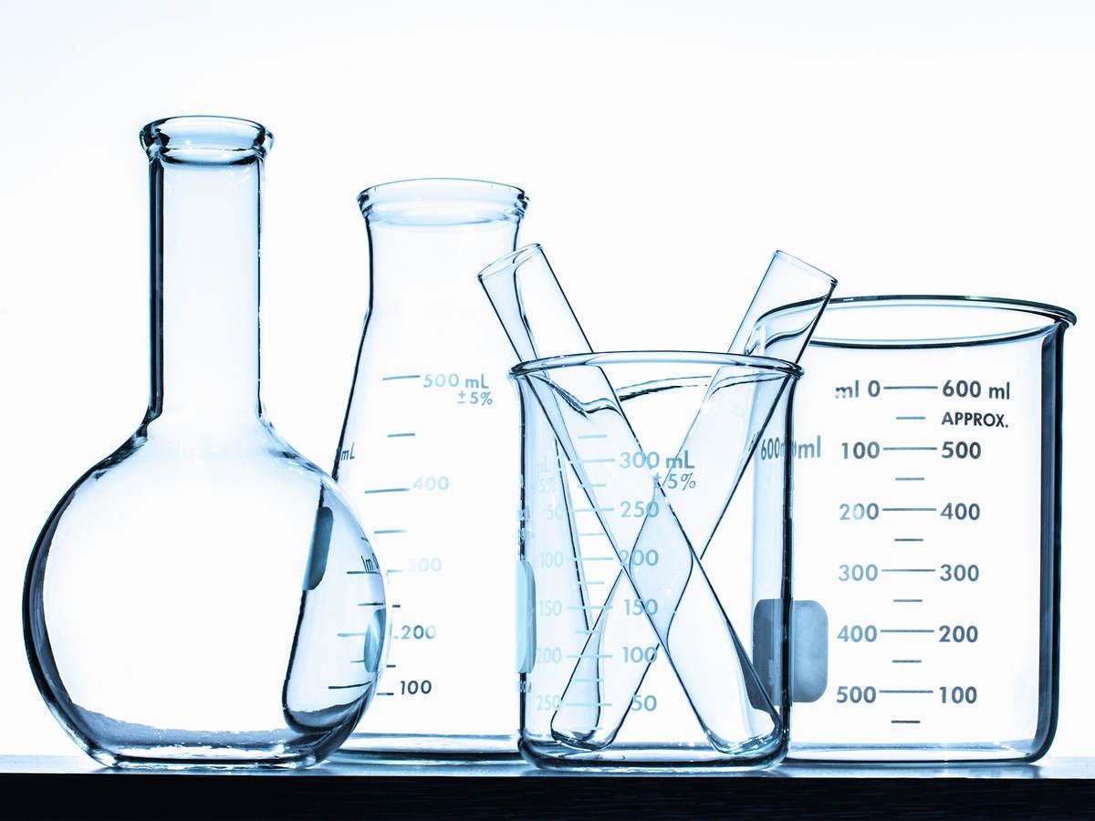 Family of chemistry glassware