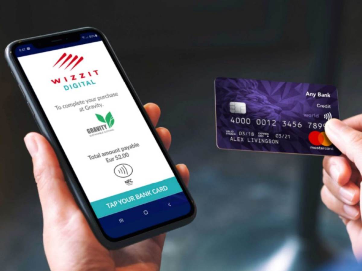 phone as payment terminal with credit card