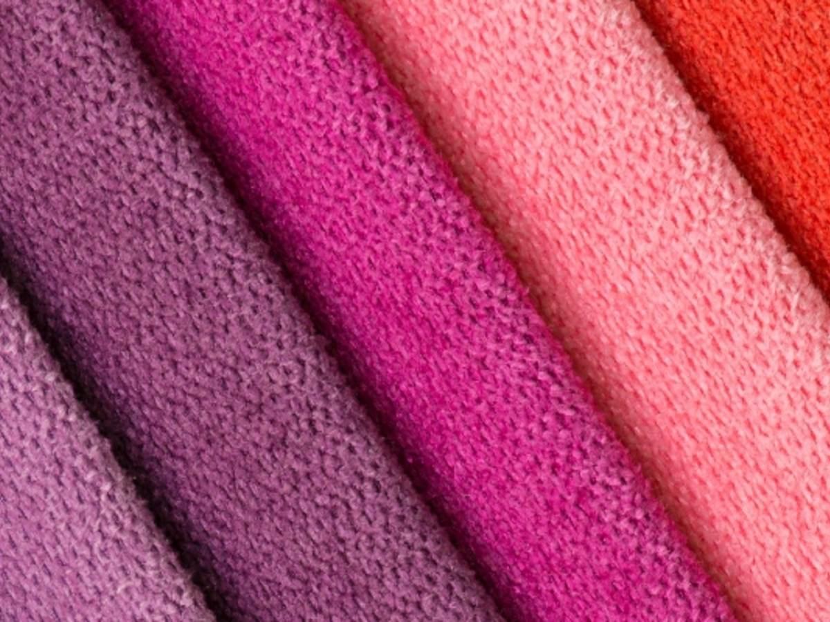 Multi colored textiles