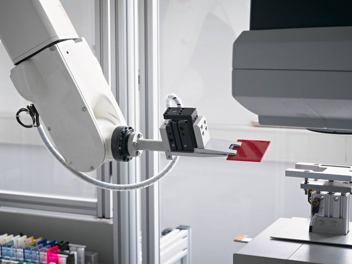 equipment in a laboratory