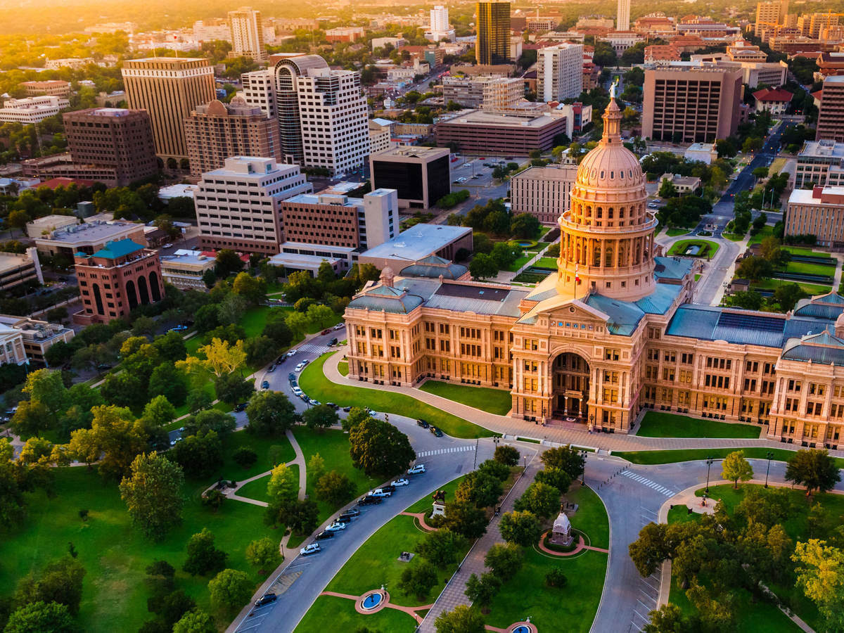 Austin, Texas capitol building