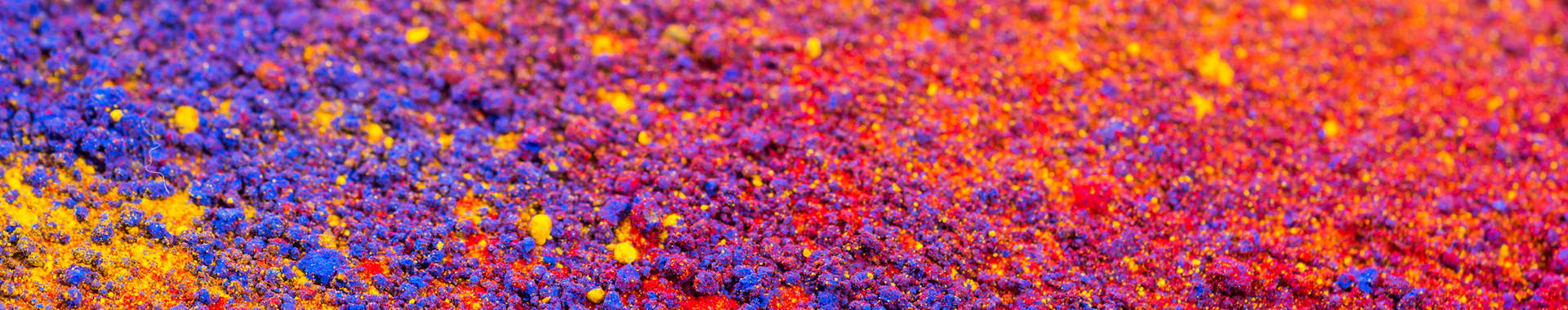 Abstract image of multi-colored dust